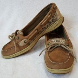 Sperry Top-Sider Angelfish Leather Sequin Slip-Ons